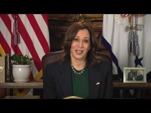 Vice President Kamala Harris speaks to CFT Convention