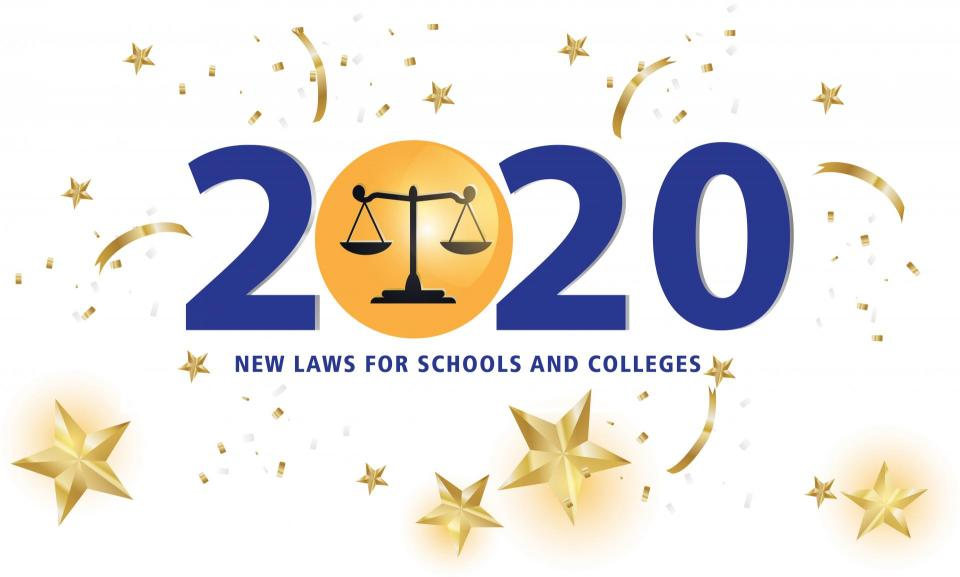 California New Laws 2020.Know The New Laws For California Schools And Colleges In