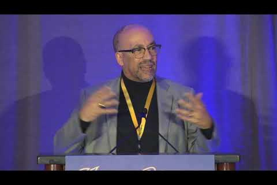 Labor Scholar Bill Fletcher, Jr. addresses delegates