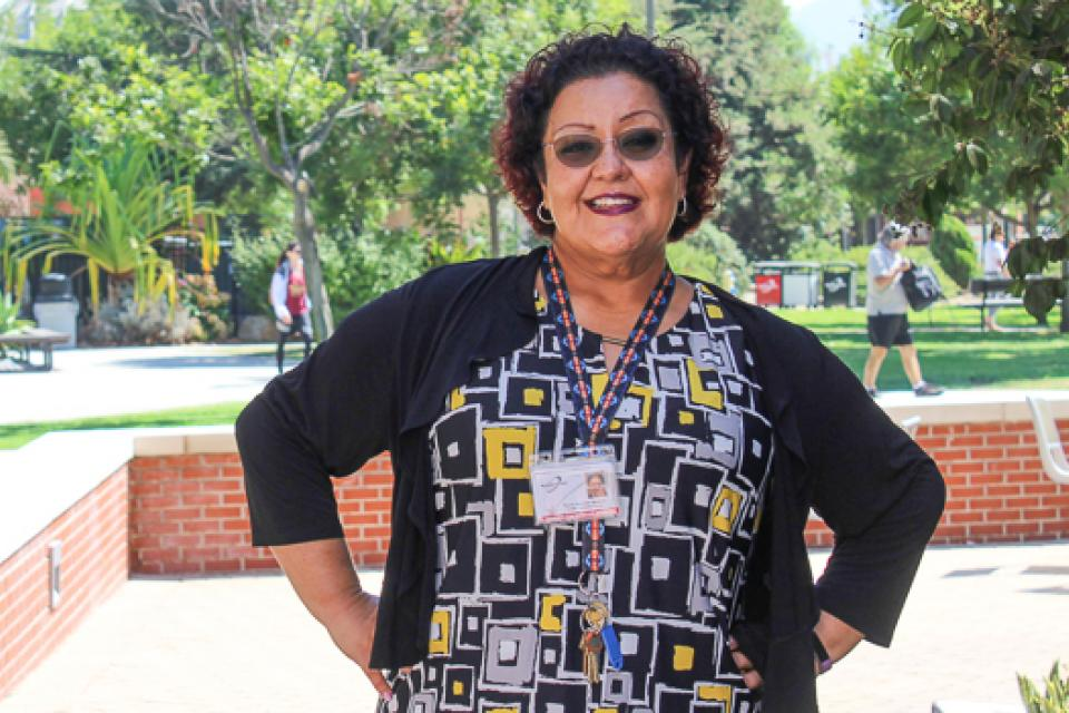 Theresa Alvarado Quainoo, an academic department assistant and member of the Palomar Council of Classified Employees, has committed to working with her colleagues to strengthen the union as the attacks come.