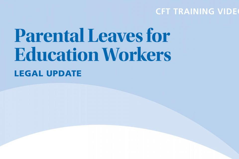 Parental Leaves for Education Workers