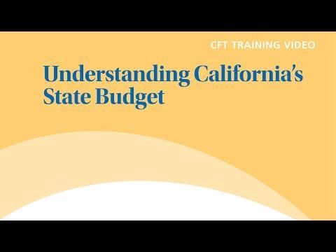 Understanding California's State Budget
